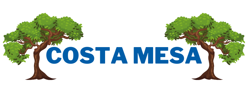 this image shows the logo for costa mesa tree care